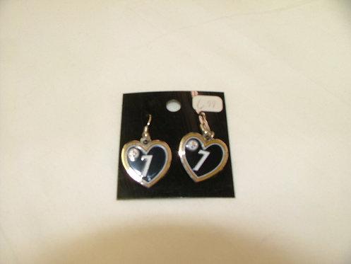 7 Heart Earrings
