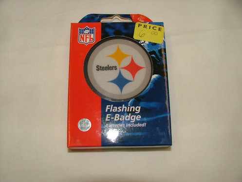 Steeler Flashing Badge