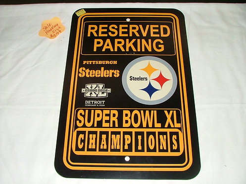 Superbowl XL Reserved Parking