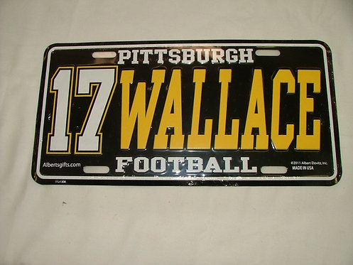 Wallace License Plate