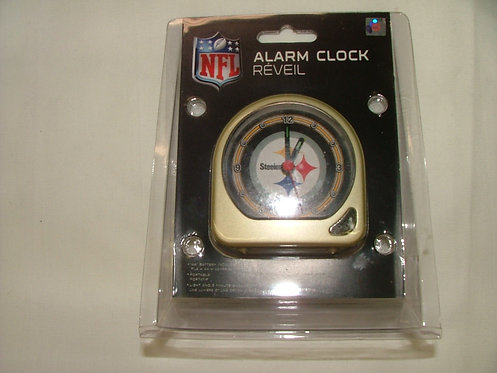 Steeler Mini Alarm Clock