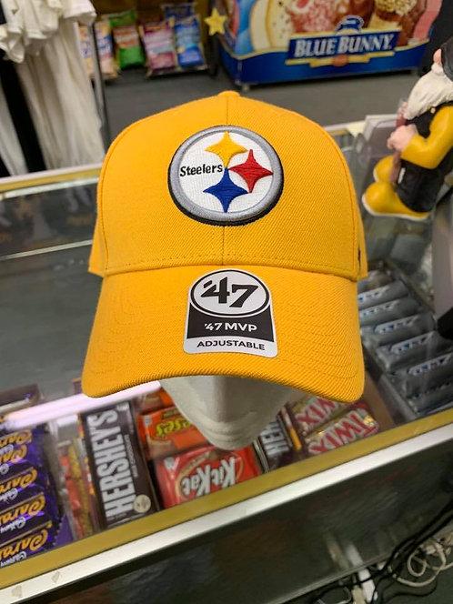 Yellow Steeler Cap