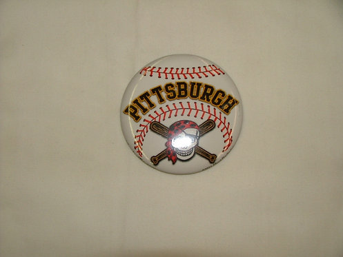 Baseball Pin Badge