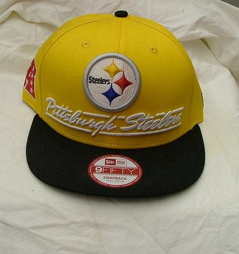 Yellow Pittsburgh Steelers Snapback Hat