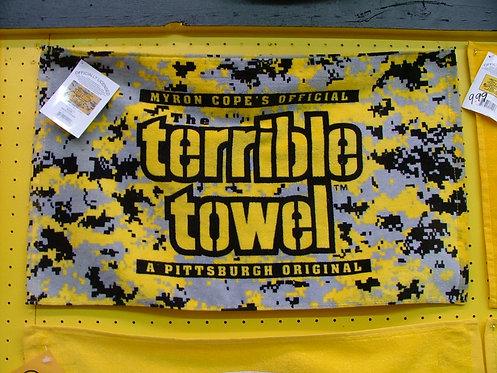 Digital Camo Towel