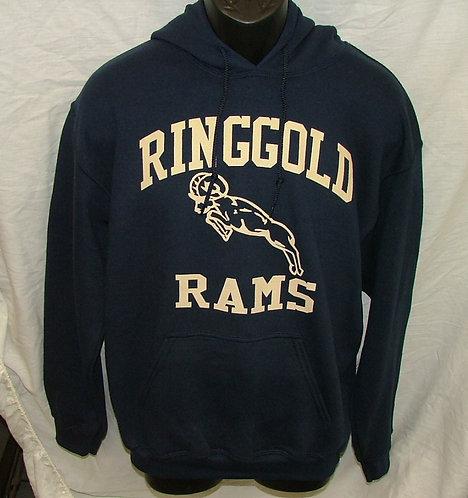 Adult Ringgold Rams Hoodie