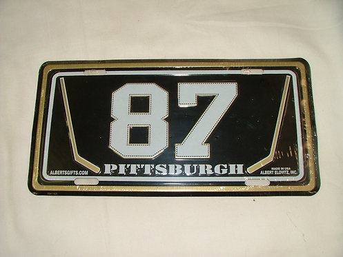 87 License Plate