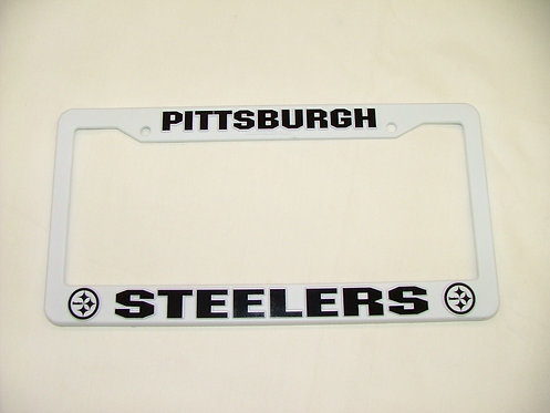 Steelers Plastic License Plate Cover