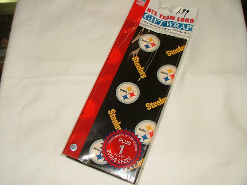 Steeler Gift Wrap