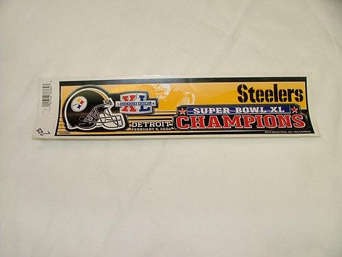 Super Bowl XL Sticker