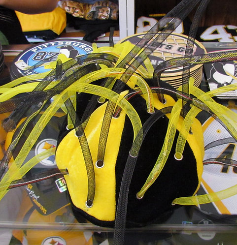 Light Up Mesh Tube Jester Steelers Hat