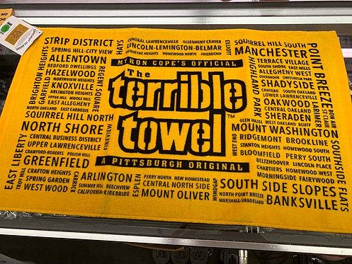 Neighborhood terrible towel