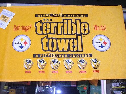 6 Rings Towel