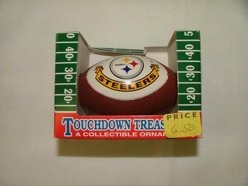 Steeler Football Ornament