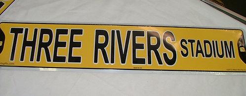 Three Rivers Sign