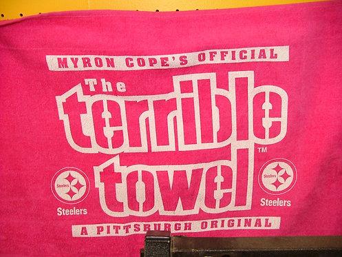 Pink Terrible Towel