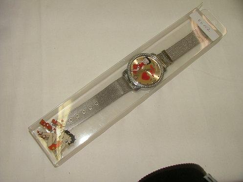 Silver Betty Boop Watch 2