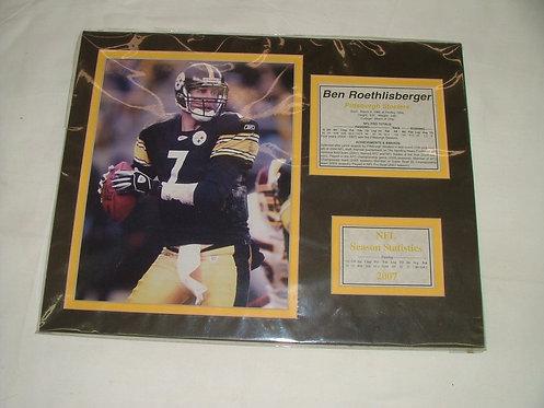 Big Ben 2007 Stats Poster