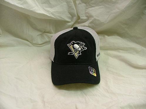 Black and White Mesh Penguins Hat