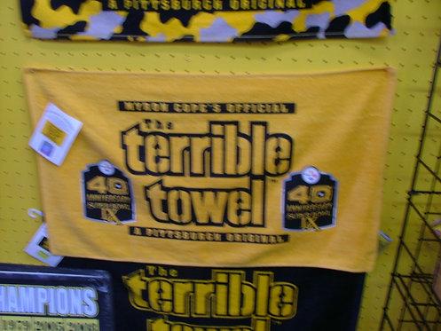 40th Anniversary Superbowl Towel
