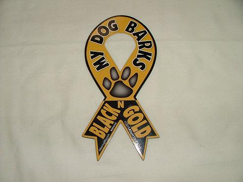 Dog Barks Magnet