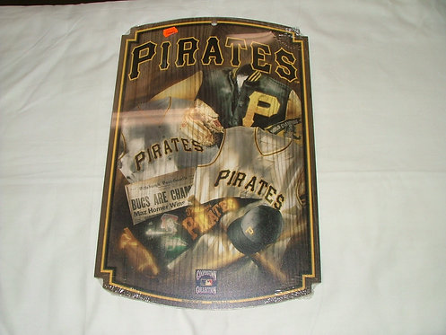 Wooden Pirates Sign