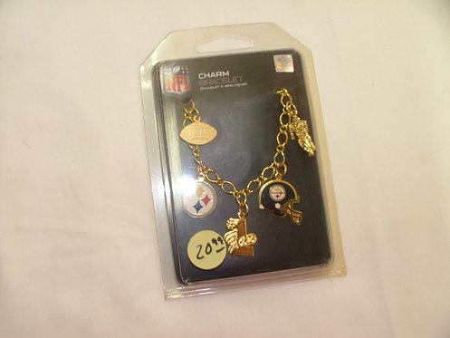 Steeler Charm Bracelet