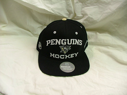 Black Penguins Snap Back Hat