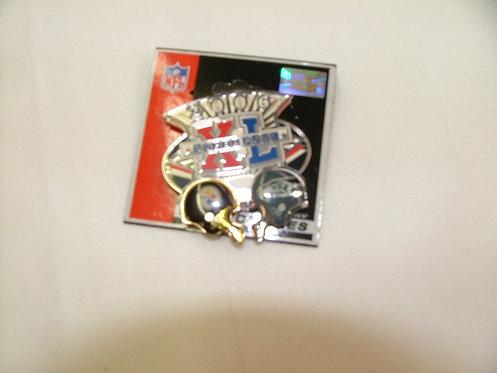 Superbowl XL Pin
