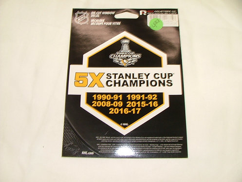 5X Champs Sticker