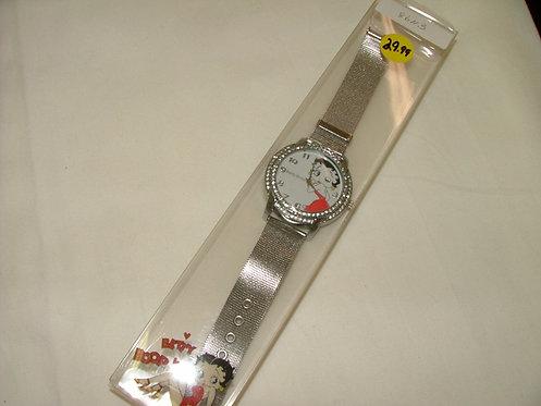 Silver Betty Boop Watch 3