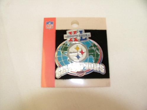 Super Bowl XL Pin