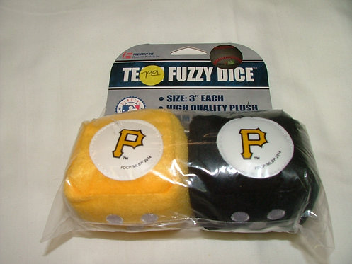 Pirate Fuzzy Dice