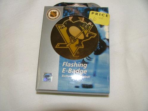 Penguins Flashng Badge