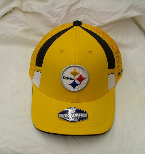 Yellow Youth Fitted Steelers Hat Size (4-7)