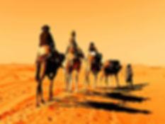 Dunes of Erg Chebbi Desert.