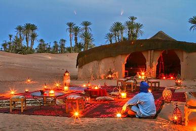 Activities in the dunes.