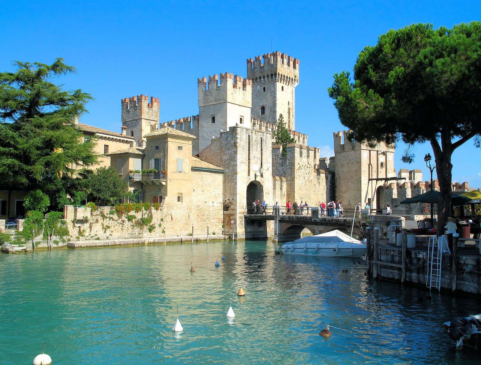 Italy Lake Garda  Scaliger Castle