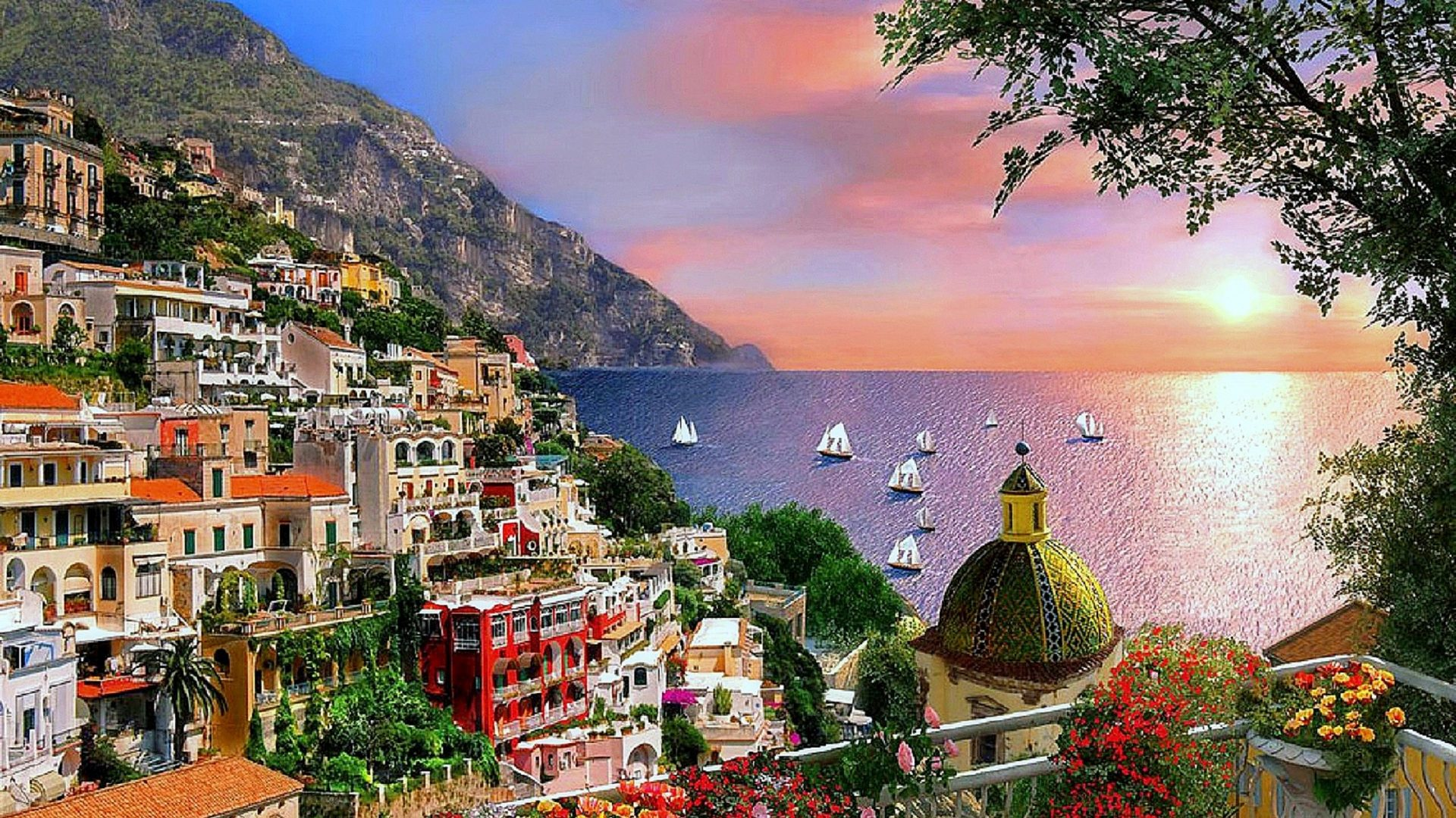 houses-positano-places-photography-sunsets-coast-love-seasons-weather-flowers-attractions-dreams-cit