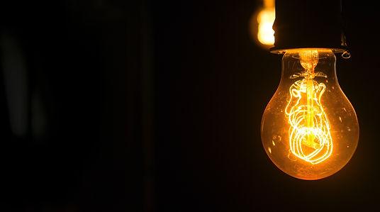 Light Bulb Hanging