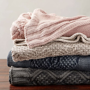 stonewashed-cable-knit-throw