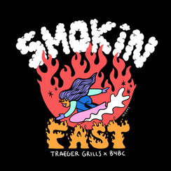 Traeger Grills x Boarding for Breast Cancer