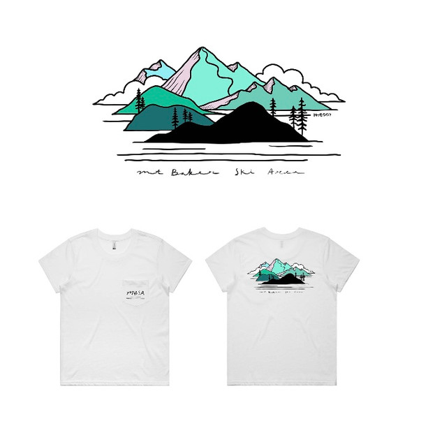 Mount Baker Ski Area T-Shirt 2020
