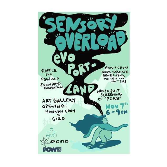 evo Portland Event Poster 2019