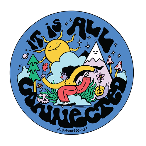 Sticker- It Is All Connected