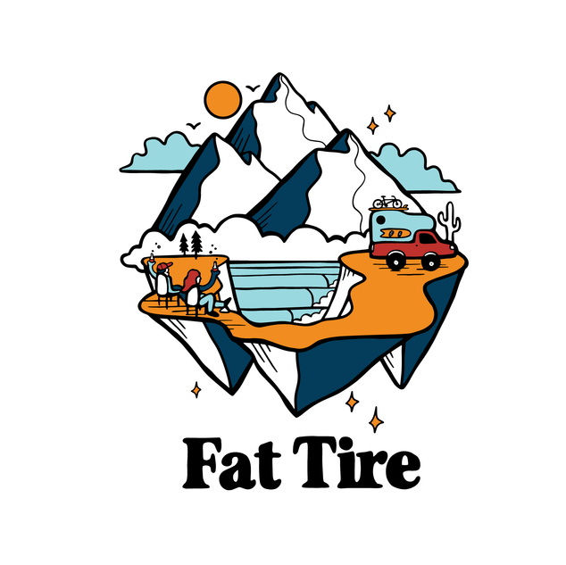 Fat Tire Shirt Design