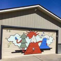 Garage Door Mural 2020