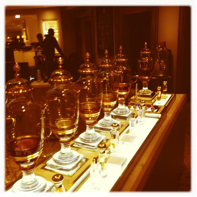 Perfume Flacons Fortnum and Mason