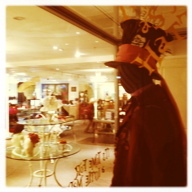 Mad Hatter costume and hats