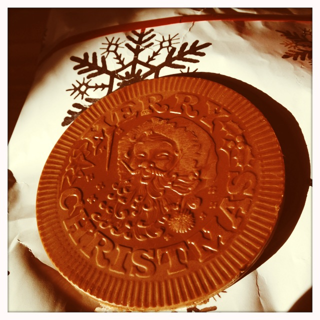 Harrods chocolate money reverse